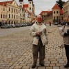 Lovely Canadian couple in Telc, private czech tour
