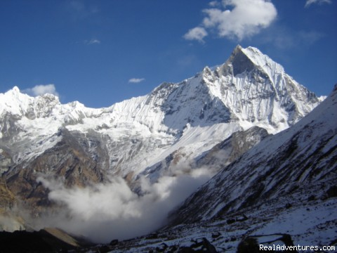 Responsible Adventures: Mt. Machapuchhare ( Fishtail) 6997
