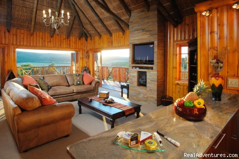 Lounge with stunning views - Addo Afrique