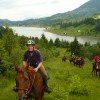 Horse Riding Trips at Calimani Equestrian Centre Lunca Bradului, Romania Horseback Riding