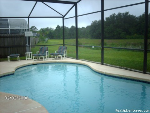 Dolphin Splendor Luxury Vacation Villa Splendor Pool overlooking Woodlands