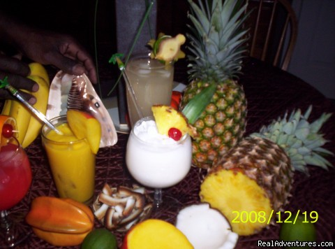 Tropical mixed Cocktails - A Taste of Barbados 7 Days 6 Nights Culinary Tour