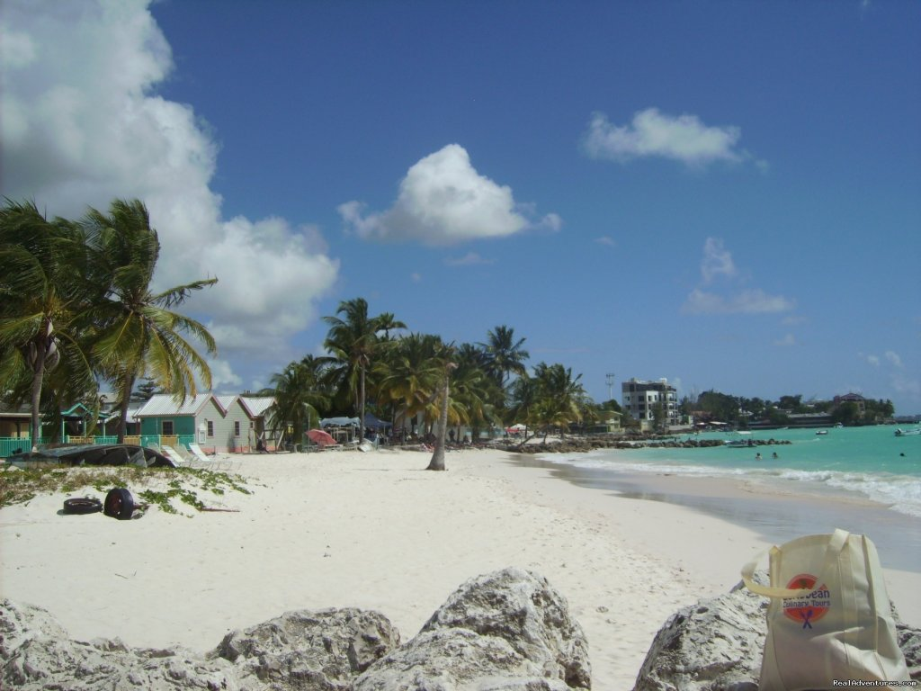 Beautiful Caribbean Beach Barbados | Image #2/6 | A Taste of Jamaica 7 Day Cooking Vacation