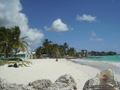 Beautiful Caribbean Beach Barbados - A Taste of Jamaica 7 Day Cooking Vacation