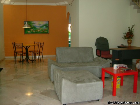 LEO's House in Kuantan city town, Pahang. Malaysia: Leo's house living area