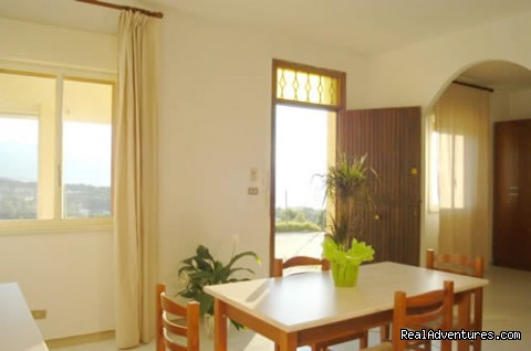 LIVING ROOM - Sicily Holiday Home Rent Euro 20 Per Person