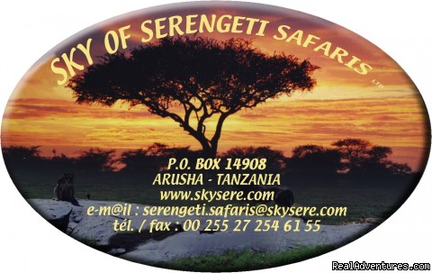 Sky Of Serengeti Safaris ltd Price is Inludes,Breakfast,Hot lunch & Diner