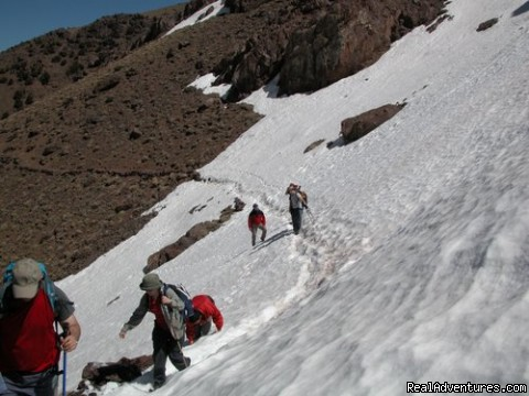 Winter Trekking - Walking in morocco  Trekking hiking in morocco top