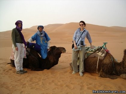 Desert Adventures - Walking in morocco  Trekking hiking in morocco top