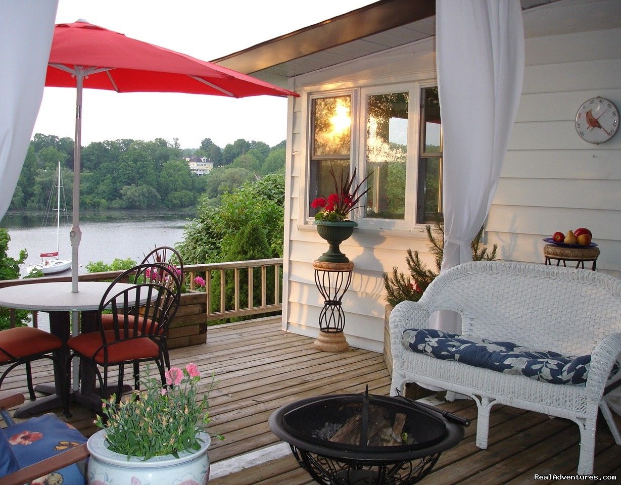 Image #1/6 | Picton, Ontario  | Vacation Rentals | Wake-up to the Sunrise over the Harbour