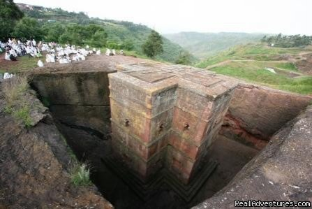 Bete Giorgis rock-hewn church-Lalibela