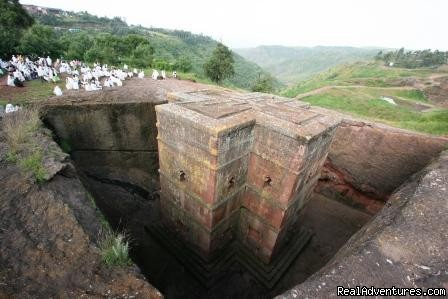 Bete Giorgis rock-hewn church-Lalibela - Meskel Festival Tour-a cultural tour to Ethiopia