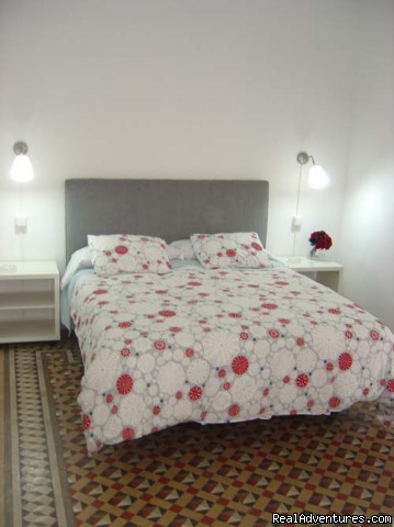 Beautiful accommodations in Barcelona: Ensuite room