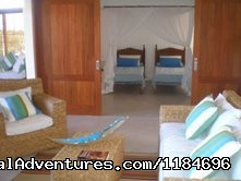 Living Room And One Suite - Brazil, Trancoso: apartment in golf condo at beach