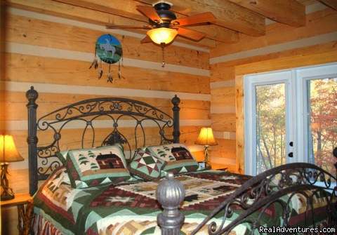All our cabins have private bathrooms. - Log Cabin Vacation Rentals Great Smoky Mountain NC