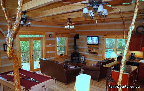 - Log Cabin Vacation Rentals Great Smoky Mountain NC