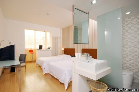 Twin Bed Room - Shanshui Trends Hotel(Liuliqiao)