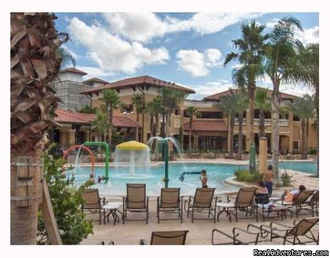 Pool Area - Floridays Resort - BRAND NEW only 2 mi to Disney