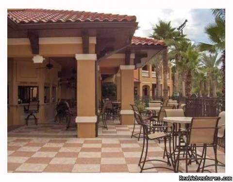 Pool Bar & Grill - Floridays Resort - BRAND NEW only 2 mi to Disney