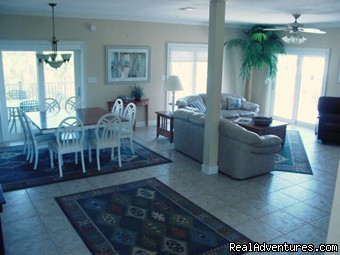 Living Room - Mariner: 4000+ Sq. Ft. Home, Pool, Game Room, Tri-