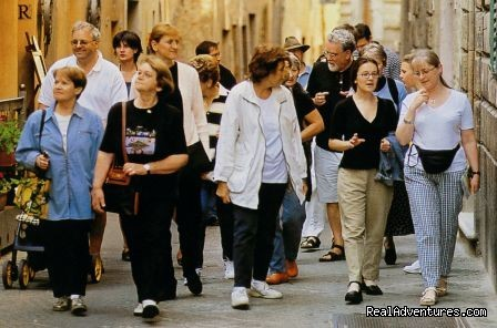 Guided tour - Learn Italian in Tuscany @ Il Sasso