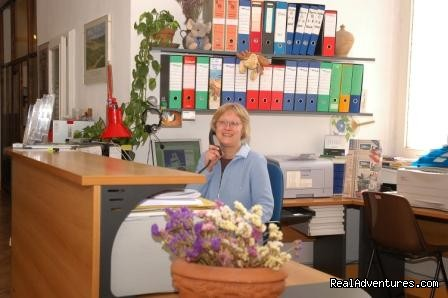 Heike - our Secretary - Learn Italian in Tuscany @ Il Sasso