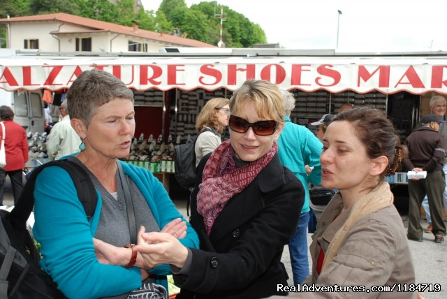 Shopping - Learn Italian in Tuscany @ Il Sasso