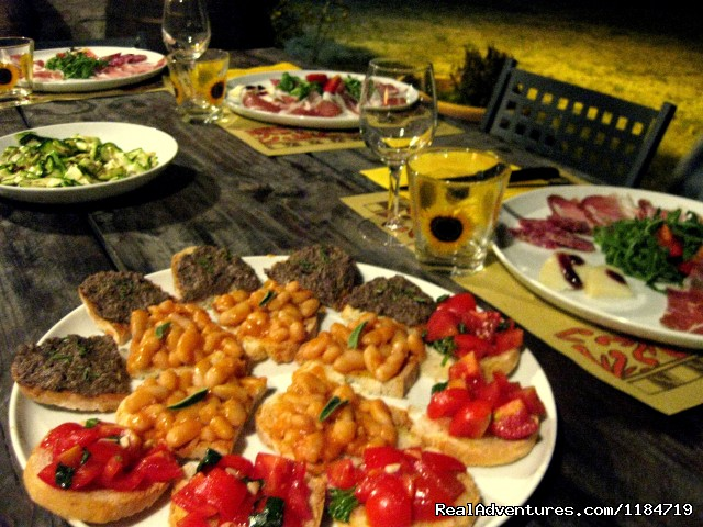 Tuscan food - Learn Italian in Tuscany @ Il Sasso