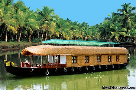 Alleppey backwater cruising  3 Bed Room luxary houseboat