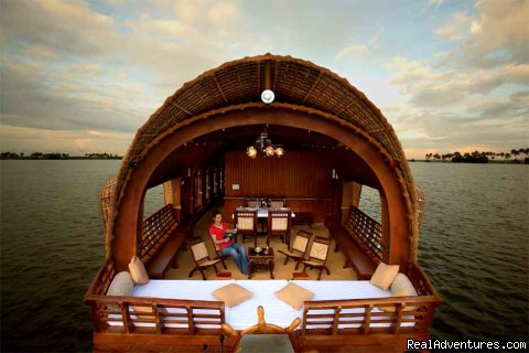 03 bed ac houseboat  - Alleppey backwater cruising