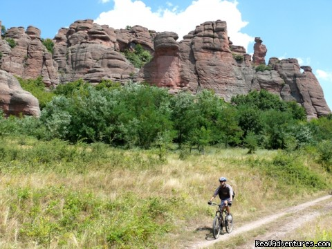 Walking And Cycling Adventure Tours In Bulgaria Western Balkans karst bike and hike tour