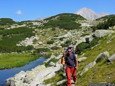 Guided and self-guided hiking tours in the Bulgarian mountains, national and nature parks, flavoured by historical and cultural impressions. Rock climbing courses and adventure snowshoeing trips.
