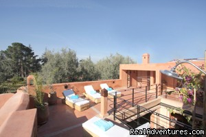 roof terrace  | Image #1/12 | Marrakech, Morocco | Vacation Rentals | Exclusive Riad Rental In Marrakesh Morocco