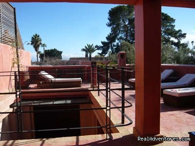 rooftop | Image #6/12 | Exclusive Riad Rental In Marrakesh Morocco