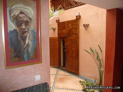 Patio | Image #10/12 | Exclusive Riad Rental In Marrakesh Morocco