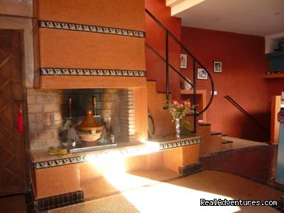 Fireplace/barbecue - Exclusive Riad Rental In Marrakesh Morocco