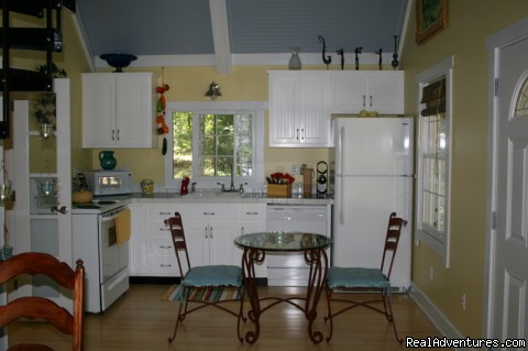 Kitchen - The Blue Cottage Rental - Lookout Mountain, GA