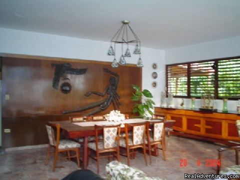 Dinning Room (#2 of 4) - Gisela´s: Comfort and privacy in Nuevo Vedado