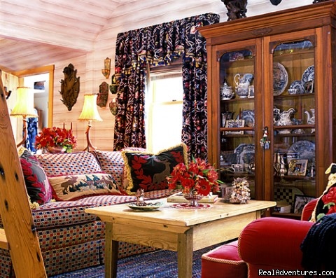 Great Room - Stowe Vacation Rentals