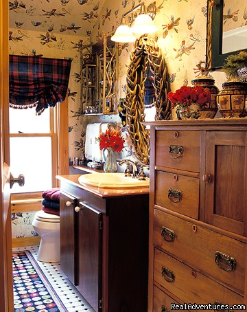 Bath with shower - Stowe Vacation Rentals