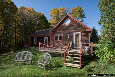 Goldilocks, Back view - Stowe Vacation Rentals