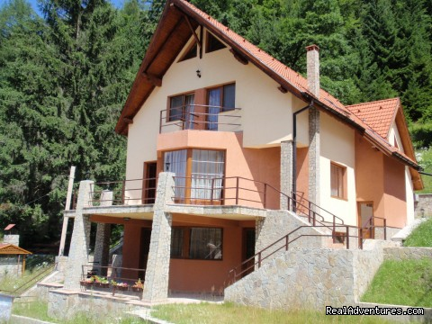 Front view Summer - Villa Casa Olandeza Brasov mountain holiday house