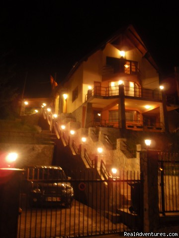 Night view - Villa Casa Olandeza Brasov mountain holiday house