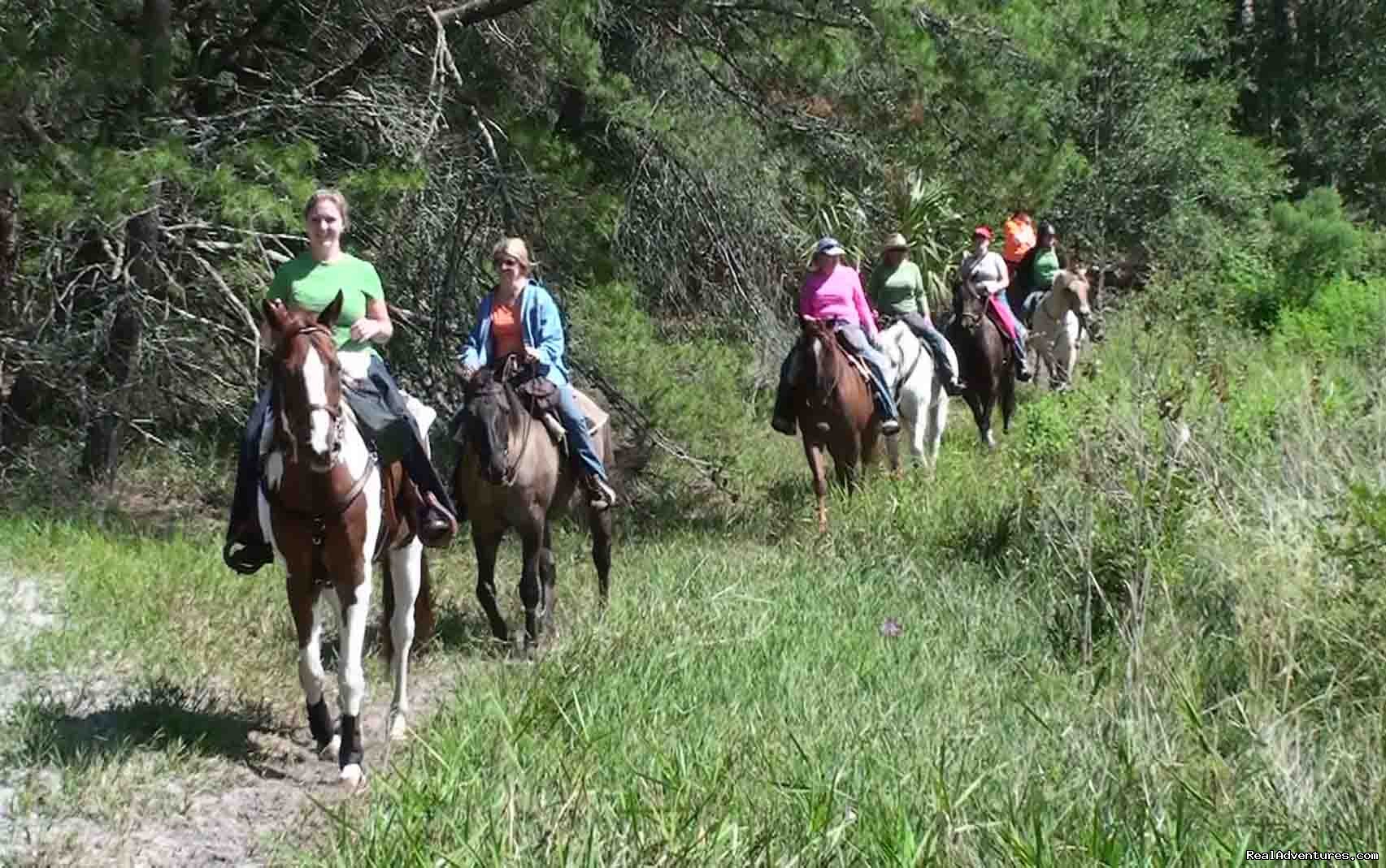 Horseback Riding | Image #12/18 | Unique Horse & Nature Resort in Ocala, FL