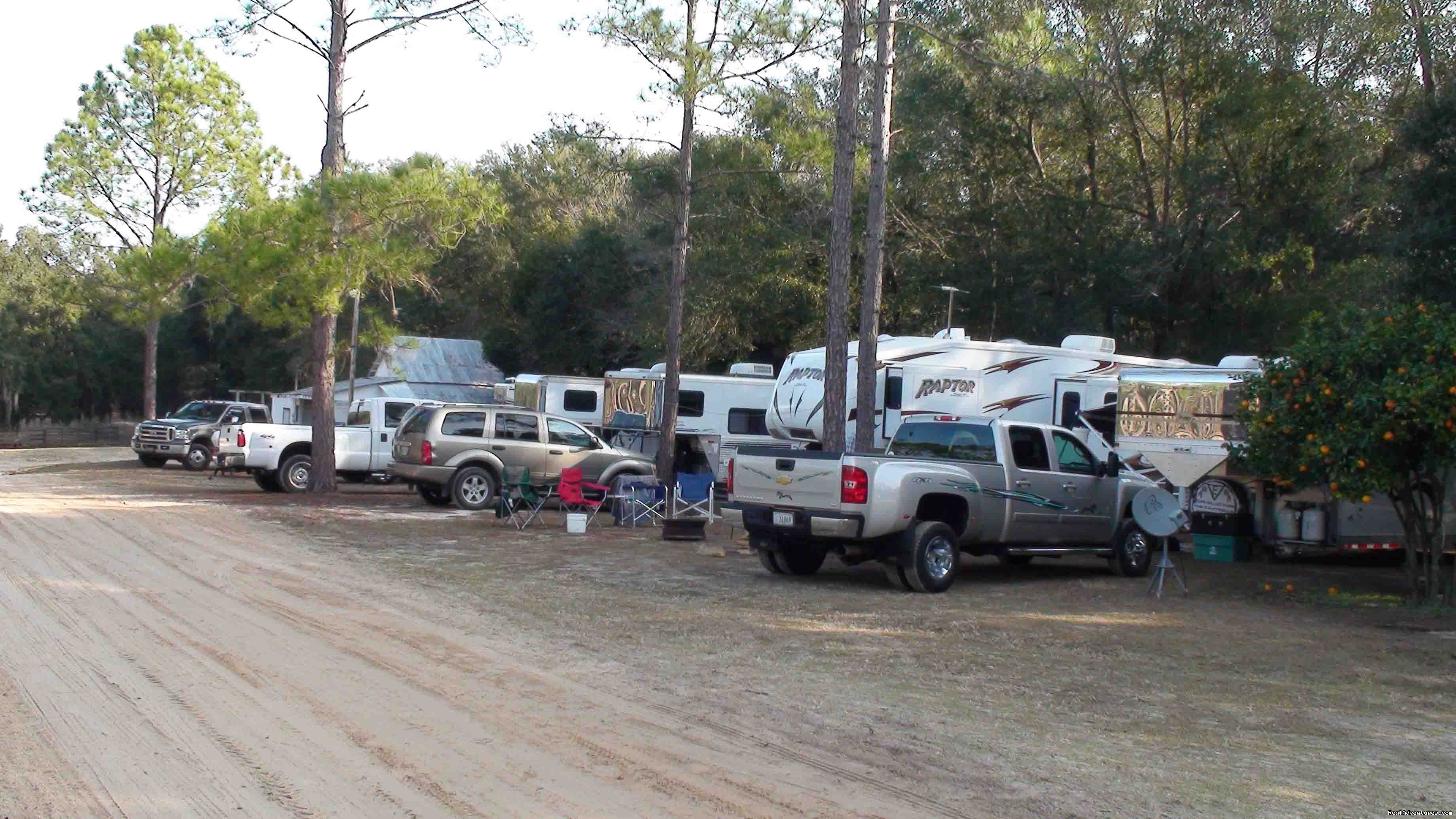 Full Hookup RV sites | Image #16/18 | Unique Horse & Nature Resort in Ocala, FL