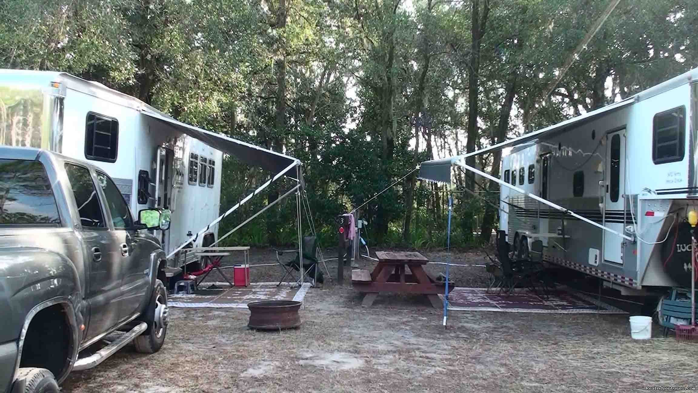 Camping at Fiddler's | Image #5/18 | Unique Horse & Nature Resort in Ocala, FL
