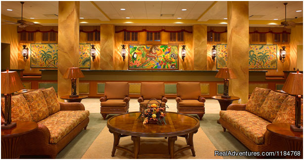 Lobby - Disney World and Universal Studios Promotion