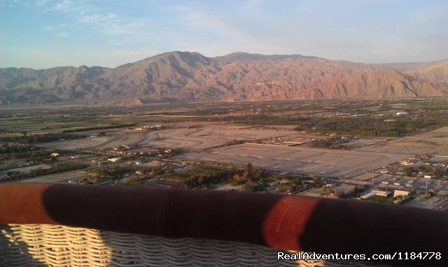 Our Passenger's photo from Hot Air Balloon Gondola (#5 of 6) - Hot Air Balloon Flights over Palm Springs
