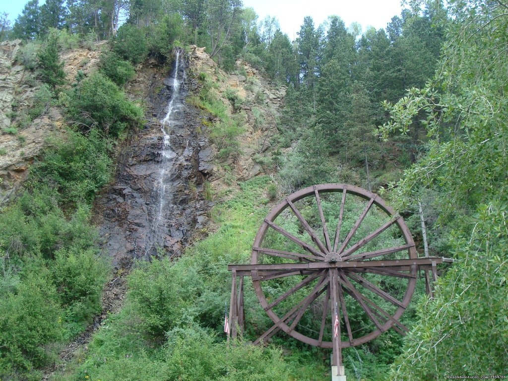 Charlie Tayler Waterwheel In Idaho Springs | Image #15/24 | Mt Evans Cabin, Hot Springs & Historic Town