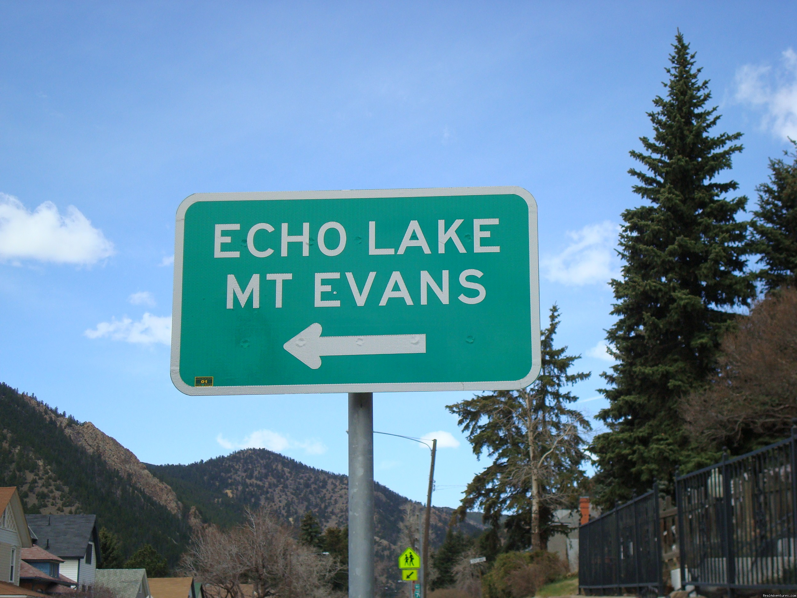 Mt Evan And Echo Lake Is A Short Driving Distance